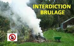 Interdiction du brûlage